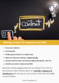 Writing Content To Improve Local SEO PowerPoint PPT Presentation