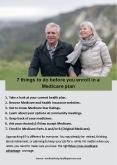 7 things to do before you enroll in a Medicare plan PowerPoint PPT Presentation