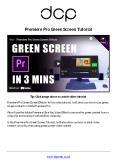 Premiere Pro Green Screen Effects Tutorial PowerPoint PPT Presentation