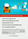 5 Cardinal Rules of Creating SEO Friendly Content PowerPoint PPT Presentation