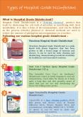 Types of Hospital Grade Disinfectant PowerPoint PPT Presentation