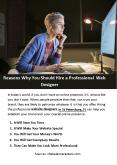 Reasons Why You Should Hire a Professional Web Designer PowerPoint PPT Presentation