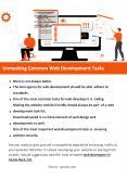Unmasking Common Web Development Tasks PowerPoint PPT Presentation