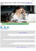 Sinus Headaches | When Your Sinuses Cause You Pain | Neurologist In Coimbatore PowerPoint PPT Presentation