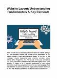 Website Layout: Understanding Fundamentals & Key Elements PowerPoint PPT Presentation