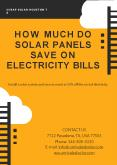 Solar Panel Supplier Houston TX PowerPoint PPT Presentation
