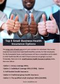 Top 5 Small Business Health Insurance Options PowerPoint PPT Presentation