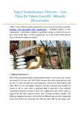 Top 3 Transformer Threats – Can They Be Taken Care Of - Miracle Electronics PowerPoint PPT Presentation