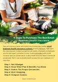 5 Steps To Purchase The Best Small Business Health Insurance (1) PowerPoint PPT Presentation