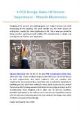 4 PCB Design Rules Of Utmost Importance - Miracle Electronics PowerPoint PPT Presentation