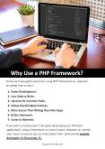 Why Use a PHP Framework? PowerPoint PPT Presentation