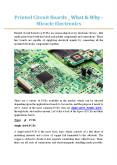 Printed Circuit Boards _ What & Why - Miracle Electronics PowerPoint PPT Presentation