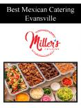Best Mexican Catering Evansville PowerPoint PPT Presentation