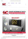 Sharp Microwave Parts PowerPoint PPT Presentation