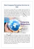 Best Company Formation Services in UAE PowerPoint PPT Presentation