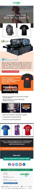 The Best Garment Printer   Arrow Digital PowerPoint PPT Presentation