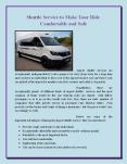 Shuttle Service to Make Your Ride Comfortable and Safe PowerPoint PPT Presentation