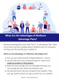 What Are the Advantages of Medicare Advantage Plans? PowerPoint PPT Presentation