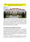 MBBS from Bukovinian State Medical University, the Best Medical University in Ukraine PowerPoint PPT Presentation