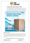 Emergency Water Storage Containers and Filters PowerPoint PPT Presentation