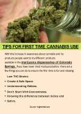 TIPS FOR FIRST TIME CANNABIS USE PowerPoint PPT Presentation