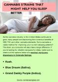 CANNABIS STRAINS THAT MIGHT HELP YOU SLEEP BETTER PowerPoint PPT Presentation