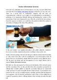 tender information services PowerPoint PPT Presentation