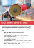 WHAT IS SHEET METAL USED FOR? PowerPoint PPT Presentation