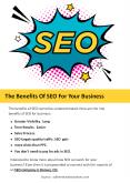 The Benefits Of SEO For Your Business PowerPoint PPT Presentation
