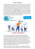 Tender Consultancy PowerPoint PPT Presentation