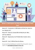 What is a CMS System and Why Does My Website Need One? PowerPoint PPT Presentation