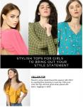 Best Stylish Tops For Girls PowerPoint PPT Presentation