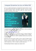 Company Formation Services in Dubai UAE PowerPoint PPT Presentation