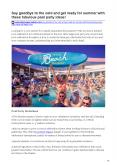 Say goodbye to the cold and get ready for summer with these fabulous pool party ideas PowerPoint PPT Presentation