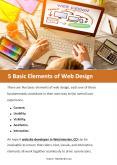 5 Basic Elements of Web Design PowerPoint PPT Presentation