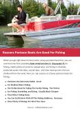 Reasons Pontoon Boats Are Good For Fishing-converted PowerPoint PPT Presentation