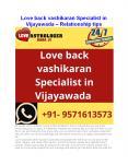 Love back vashikaran Specialist in Vijayawada - Relationship tips PowerPoint PPT Presentation