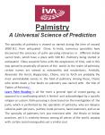 Learn Palm Reading PowerPoint PPT Presentation