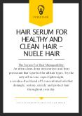 Hair Awards: The Best Products of the Year to Nuele Hair PowerPoint PPT Presentation