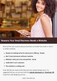 Reasons Your Small Business Needs a Website PowerPoint PPT Presentation