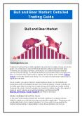 Bull and Bear Market: Detailed Trading Guide PowerPoint PPT Presentation