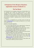 Get all types of business registration services in India & U.S: The Tax Planet PowerPoint PPT Presentation