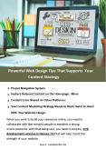 Powerful Web Design Tips That Supports Your Content Strategy PowerPoint PPT Presentation