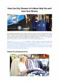 How Can Dry Cleaners in Fulham Help You and Save Your Money - Hello Laundry PowerPoint PPT Presentation