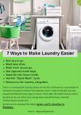 7 Ways to Make Laundry Easier PowerPoint PPT Presentation