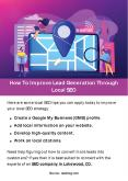 How To Improve Lead Generation Through Local SEO PowerPoint PPT Presentation