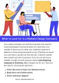 What to Look for in a Website Design Company PowerPoint PPT Presentation
