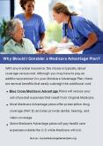 Why Should I Consider a Medicare Advantage Plan? PowerPoint PPT Presentation