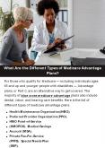 What Are the Different Types of Medicare Advantage Plans? PowerPoint PPT Presentation