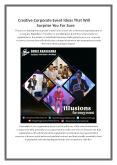 Creative Corporate Event Ideas That Will Surprise You For Sure PowerPoint PPT Presentation